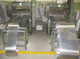 Expanded Metal Machine: Press, Flattening Machine and