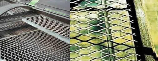 Galvanized Expanded Steel Security Fencing For Perimeter