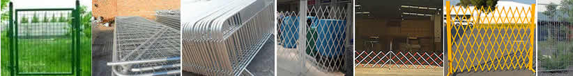 Mobile Fencing of Expanded Galvanized Steel