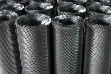 Expanded Metal Aluminum Titanium And Steel For