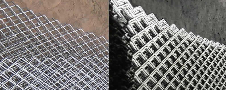 Flattened Steel Mesh Sheet with Diamond Holes
