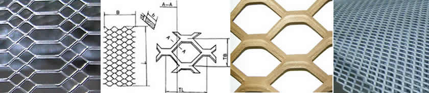 Heavy Type Hexagon Shape Expanded Metal